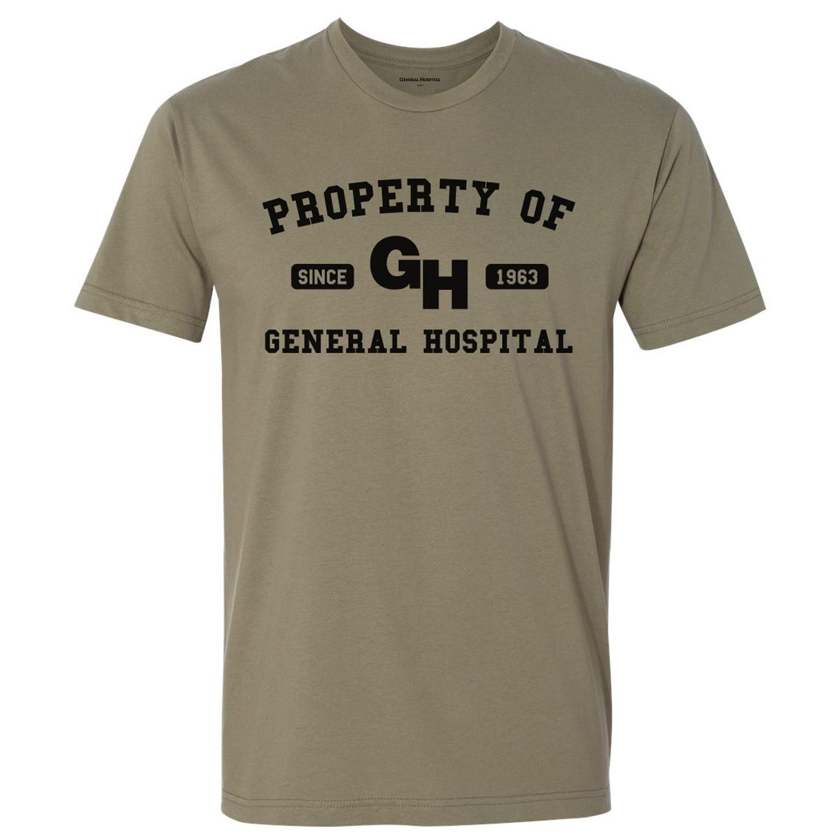 General Hospital Property Of T-Shirt