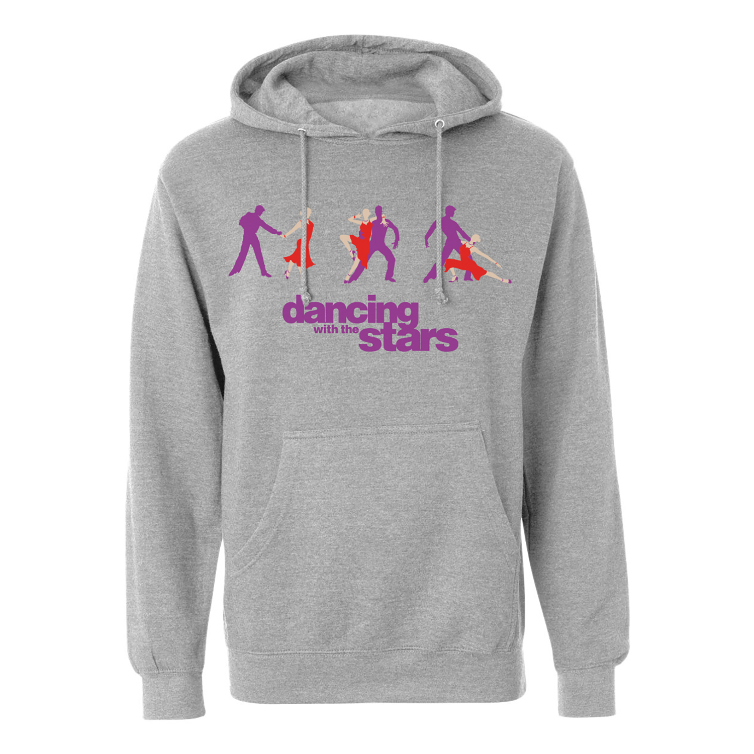 Dancing With the Stars Cha Cha Pullover Hoodie (Heather Grey)