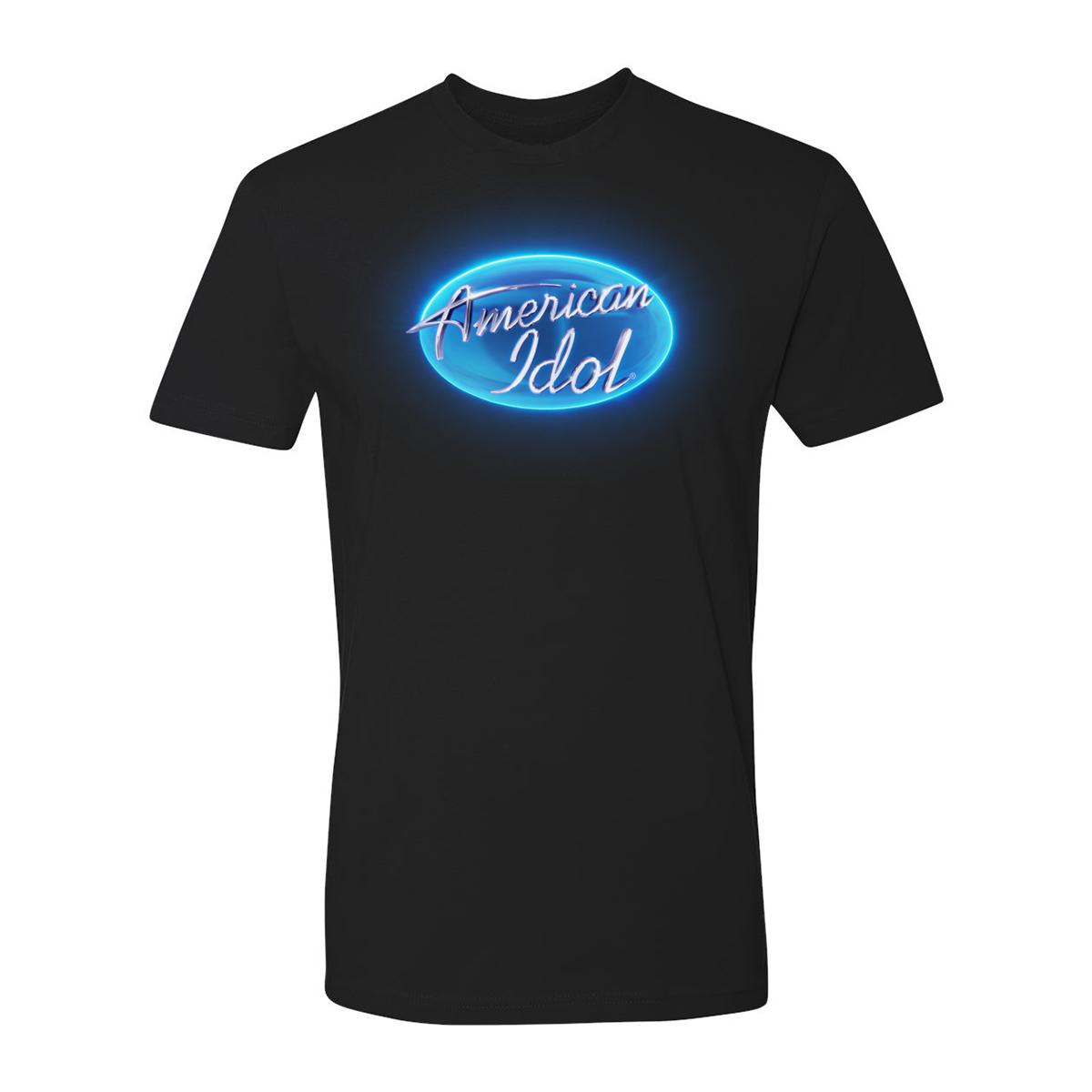 American Idol Circle Logo T-Shirt (Black)