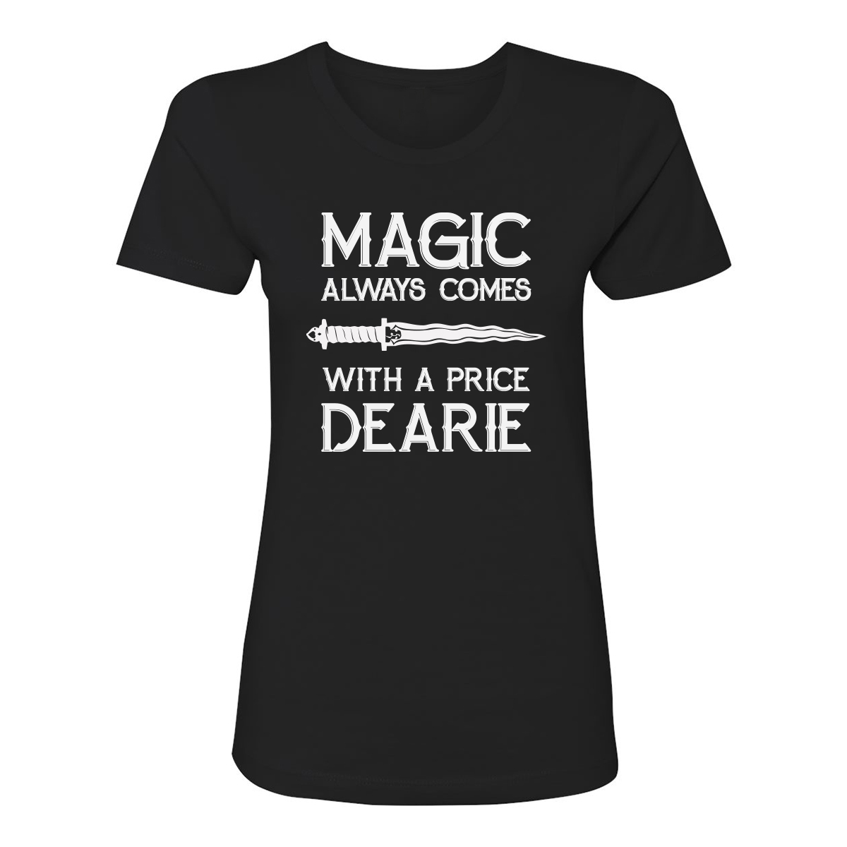 Once Upon A Time Magic Women's T-Shirt (Black)