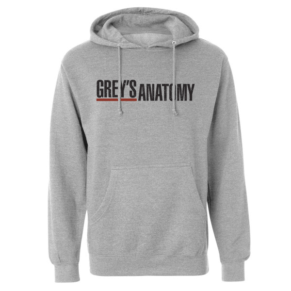 Grey's Anatomy Logo Pullover Hoodie