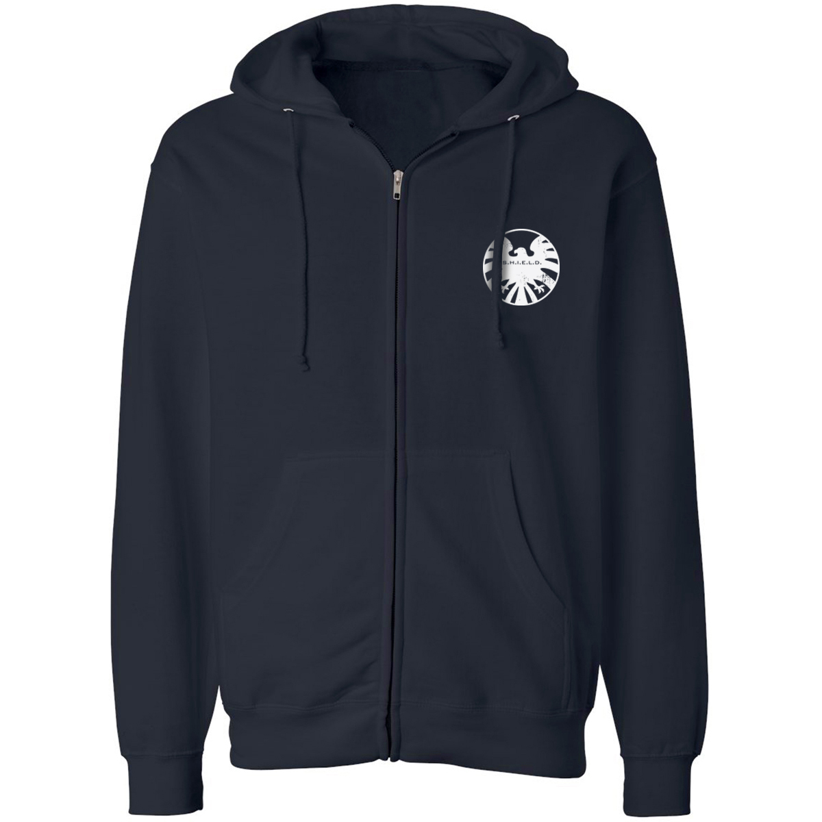 Marvel's Agents of S.H.I.E.L.D. Distressed Crest Zip Hoodie