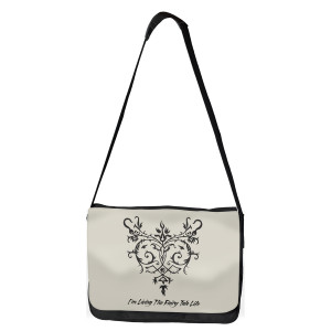 Once Upon A Time Living The Fairy Tale Life Messenger Bag