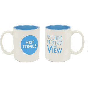 The View Logo Mug