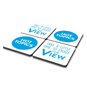 The View Hot Topics Coasters (Set of 4)
