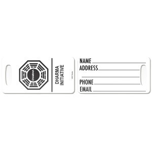 Lost Numbers Luggage Tag
