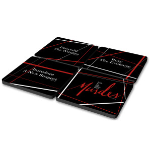 How To Get Away With Murder Steps Coasters (Set of 4)