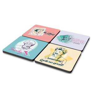 The Golden Girls Cast Coasters (Set of 4)