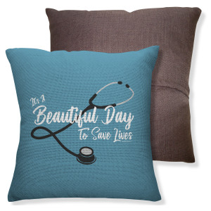 Grey's Anatomy Beautiful Day Throw Pillow (16x16)