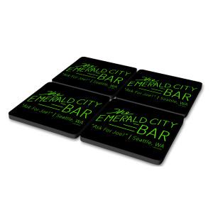 Grey's Anatomy Emerald City Coasters (Set of 4)