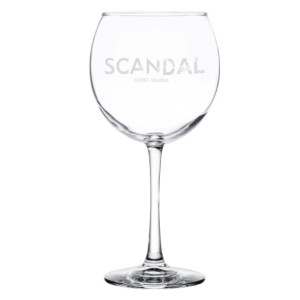 Scandal It's Handled Wine Glass