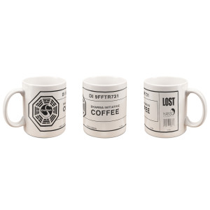 Lost Dharma Branded Coffee Mug