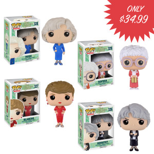 Funko POP TV: Golden Girls Bundle