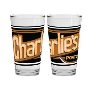 General Hospital Charlie's Pub Pint Glass
