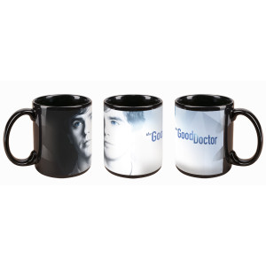 The Good Doctor Logo Mug (Black)