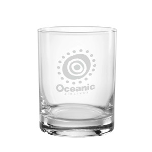 Lost Oceanic Airlines Rocks Glass