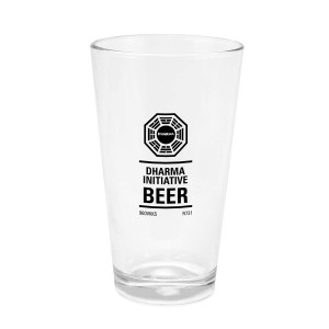 Lost Dharma Pint Glass
