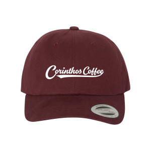 General Hospital Corinthos Baseball Hat (Burgundy)
