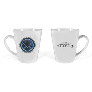 Marvel's Agents of S.H.I.E.L.D Emblem Latte Mug