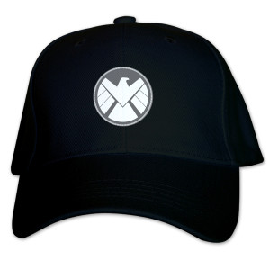 Marvel's Agents of S.H.I.E.L.D Grey Badge Baseball Hat