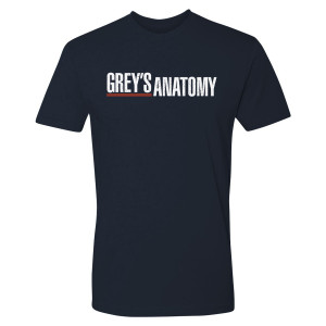 Grey's Anatomy Logo T-Shirt (Midnight Navy)