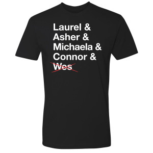 How To Get Away With Murder Keating Four T-Shirt