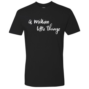 A Million Little Things Logo T-Shirt