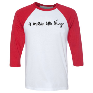 A Million Little Things Logo Raglan T-Shirt