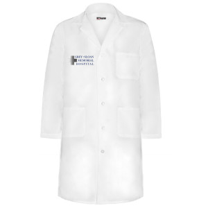 Grey's Anatomy Memorial Sloan Hospital Coat
