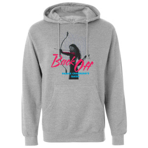 Once Upon A Time Back Off Pullover Hoodie