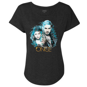 Once Upon A Time Hook & Alice Women's Dolman T-Shirt