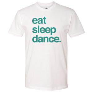 Dancing With the Stars Eat Sleep Dance T-Shirt (White)