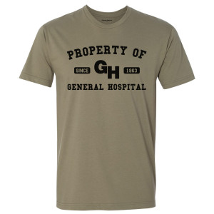 General Hospital Property Of T-Shirt