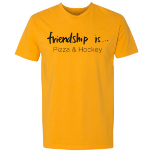 A Million Little Things Pizza and Hockey T-Shirt