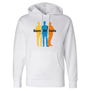 A Million Little Things Band of Dads Pullover Hoodie