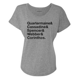 General Hospital Family Names Women's Dolman T-Shirt