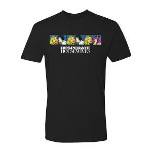 Desperate Housewives Lichtenstein T-Shirt (Black)