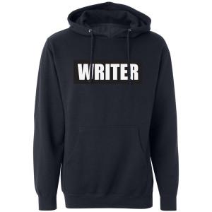 Castle Writer Pullover Hoodie (Navy)