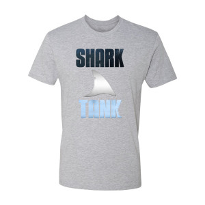 Shark Tank Logo T-Shirt (Heather Grey)