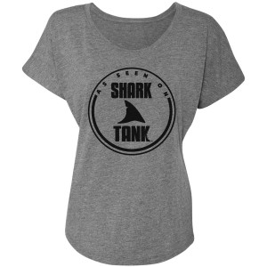 Shark Tank Seen On Dolman (Premium Heather)