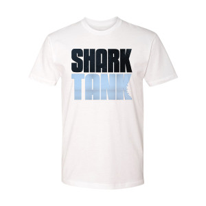 Shark Tank Logo T-Shirt (White)