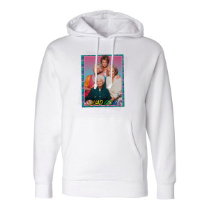 Golden Girls Pride Squad Goals Hoodie (White)