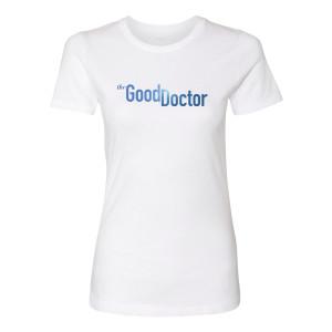 The Good Doctor Logo T-Shirt Womens (White)