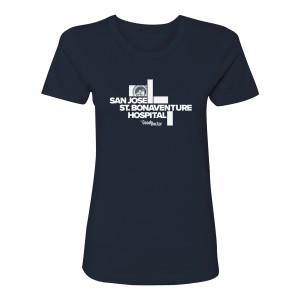 The Good Doctor Hospital Women's T-Shirt (Navy)