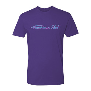 American Idol Logo T-Shirt (Purple)