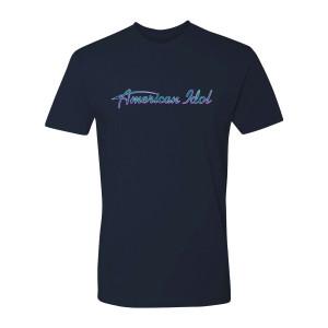 American Idol Logo T-Shirt (Midnight Navy)