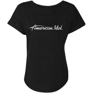 American Idol Logo Dolman (Vintage Black)