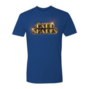 Card Sharks Shiny Logo T-Shirt (Royal Blue)