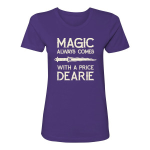 Once Upon A Time Magic Women's T-Shirt (Purple)