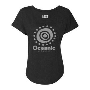 LOST Oceanic Women's Dolman